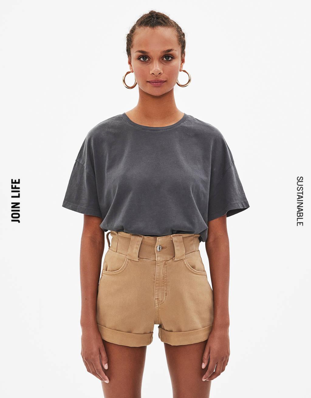1a8b728b6e7b5 T-shirts pour femme - Soldes d'été 2019 | Bershka