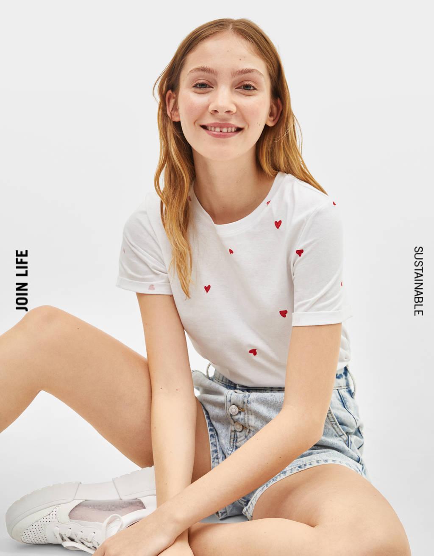 T-shirt met korte mouw