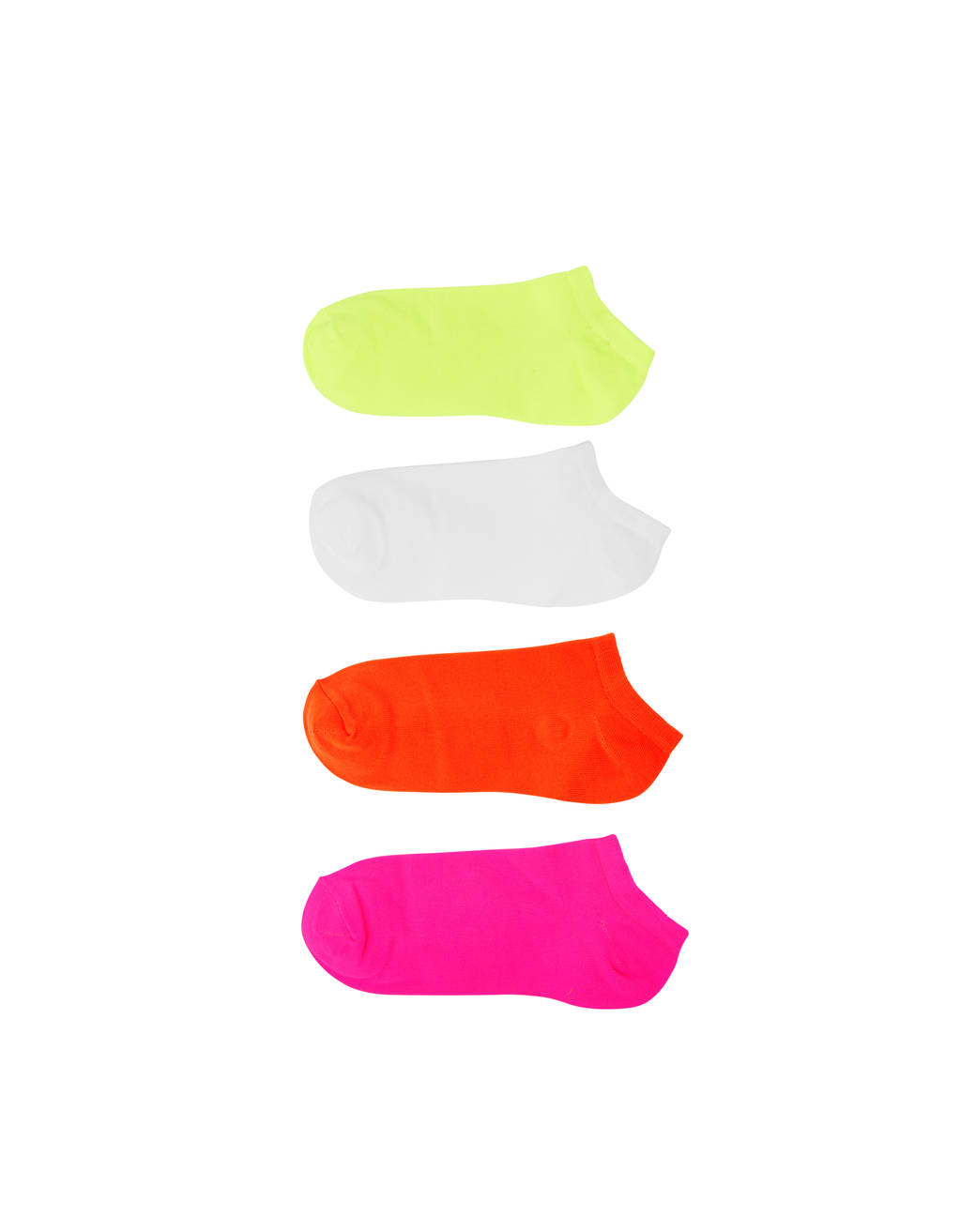 Set of neon socks