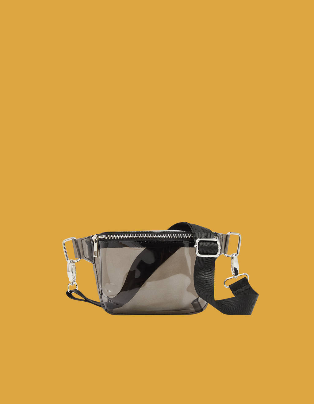 Transparent belt bag