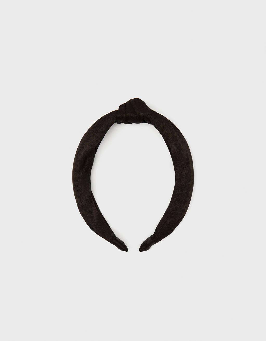 Satin headband