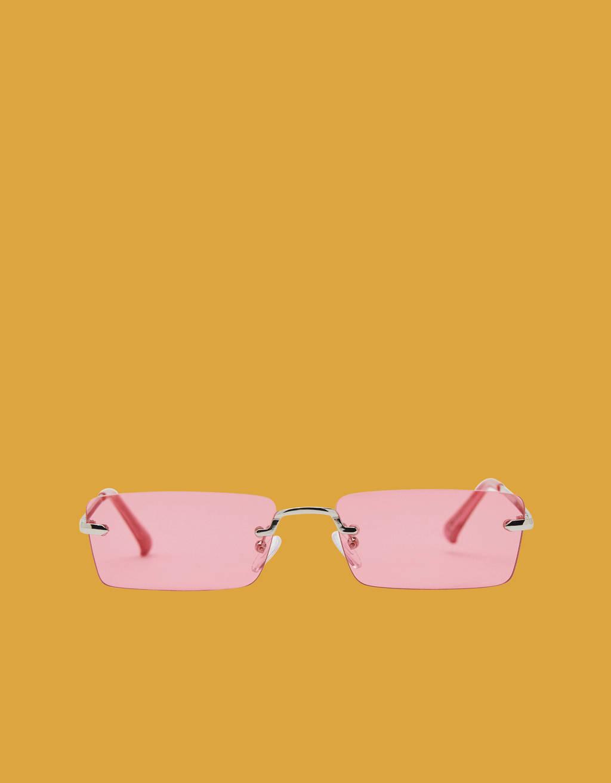 Gafas de sol con cristal de color