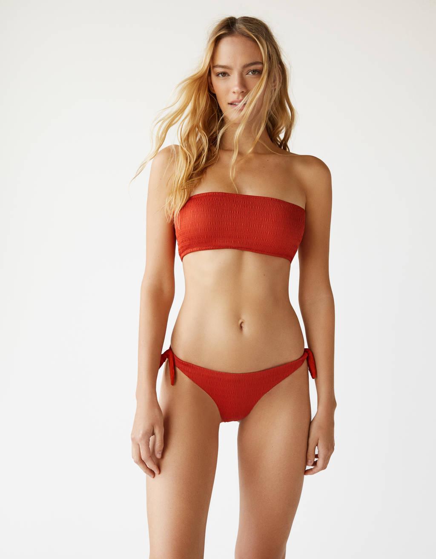 Bikini biksītes ar mezglu
