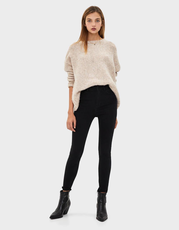 Jeans Super cintura subida