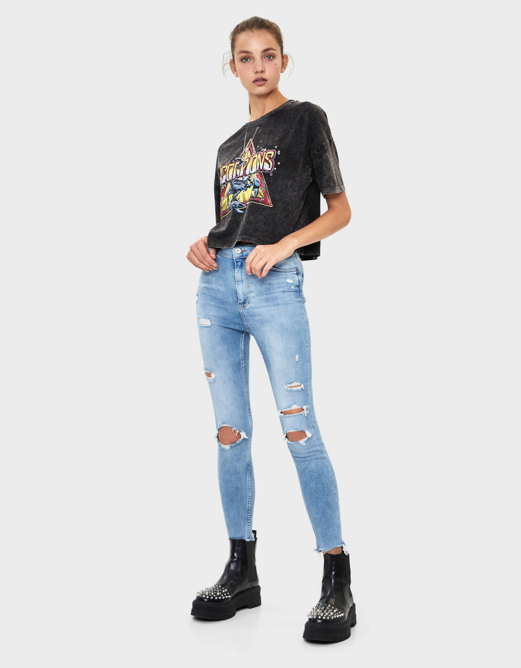 Jeans Skinny Super High Waist