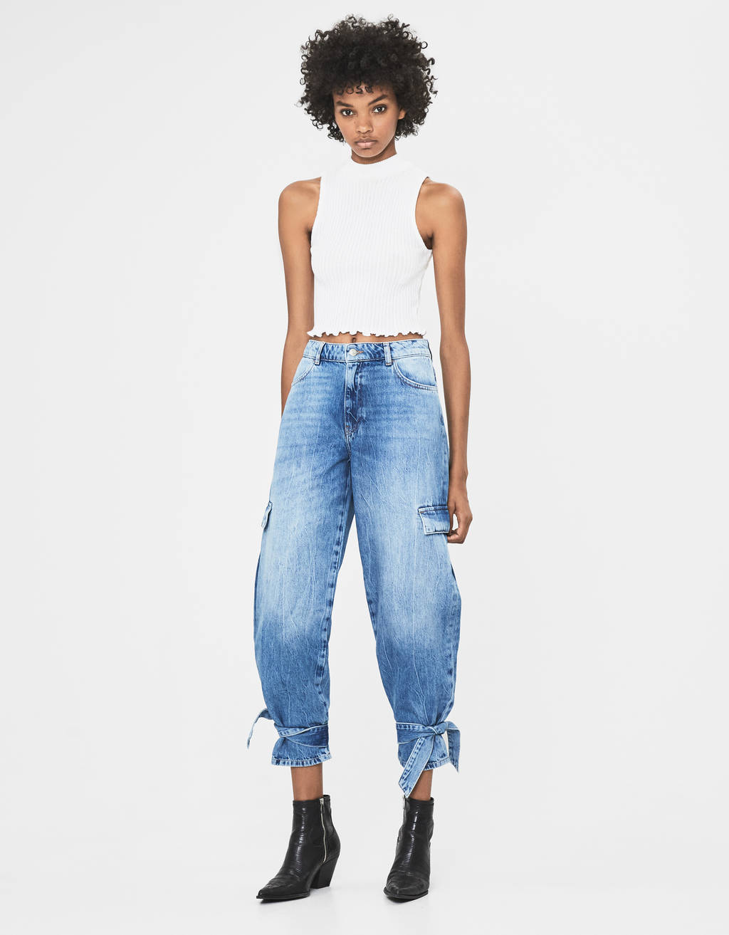 Jeans cargo Balloon Fit