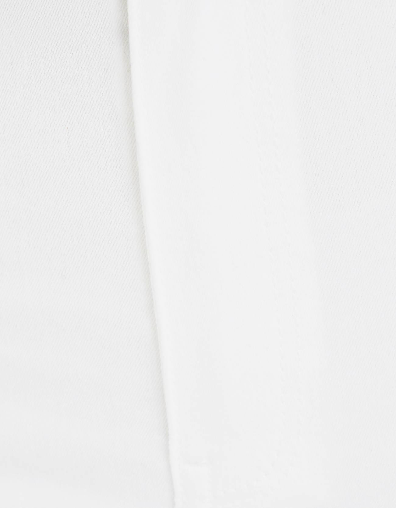 Джегинсы с высокой посадкой Белый Bershka