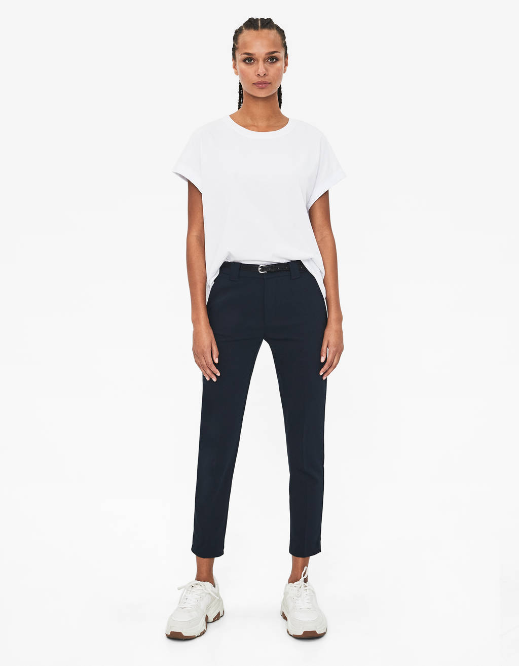 a842bb115b7079 Women's Trousers - Spring Summer 2019 | Bershka