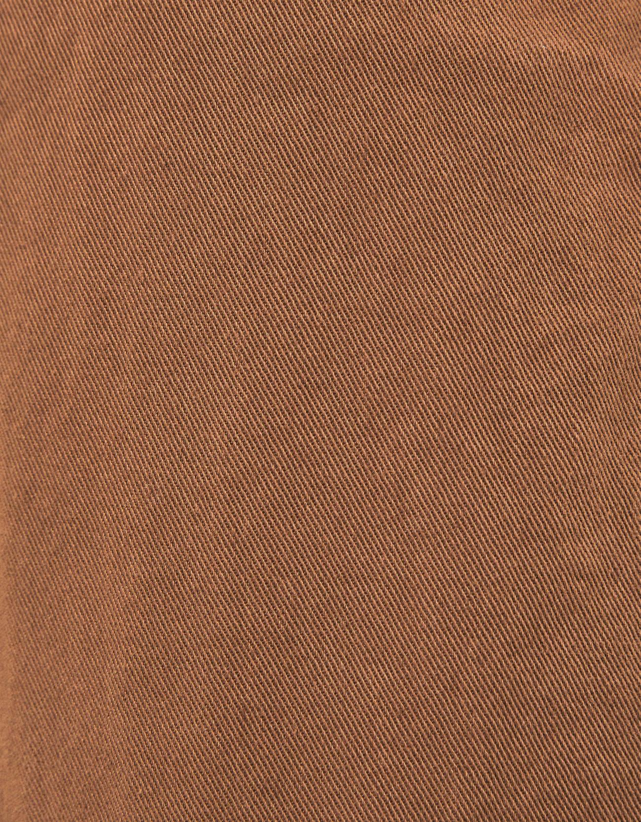 Брюки paperbag с поясом Κоричневый Bershka