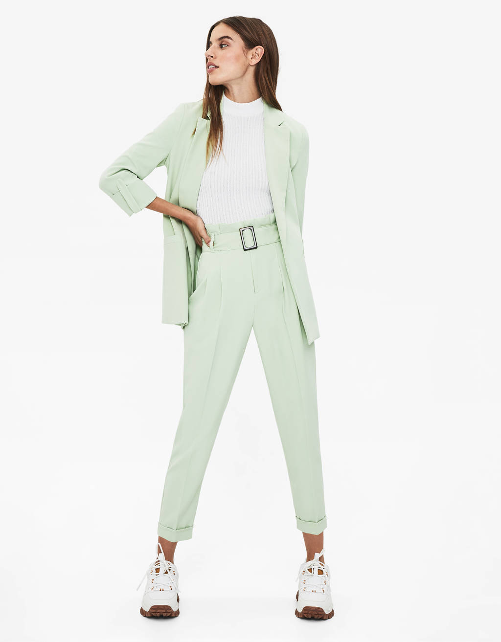 cdf39d18 Women's Trousers - Spring Summer 2019 | Bershka