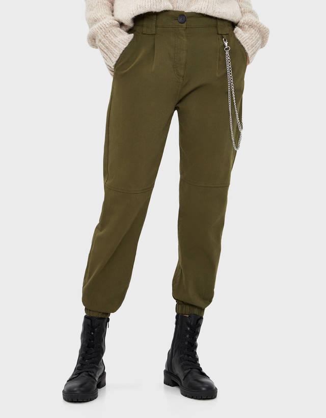 86a8ec5d Women's Cargo Trousers - Spring Summer 2019   Bershka