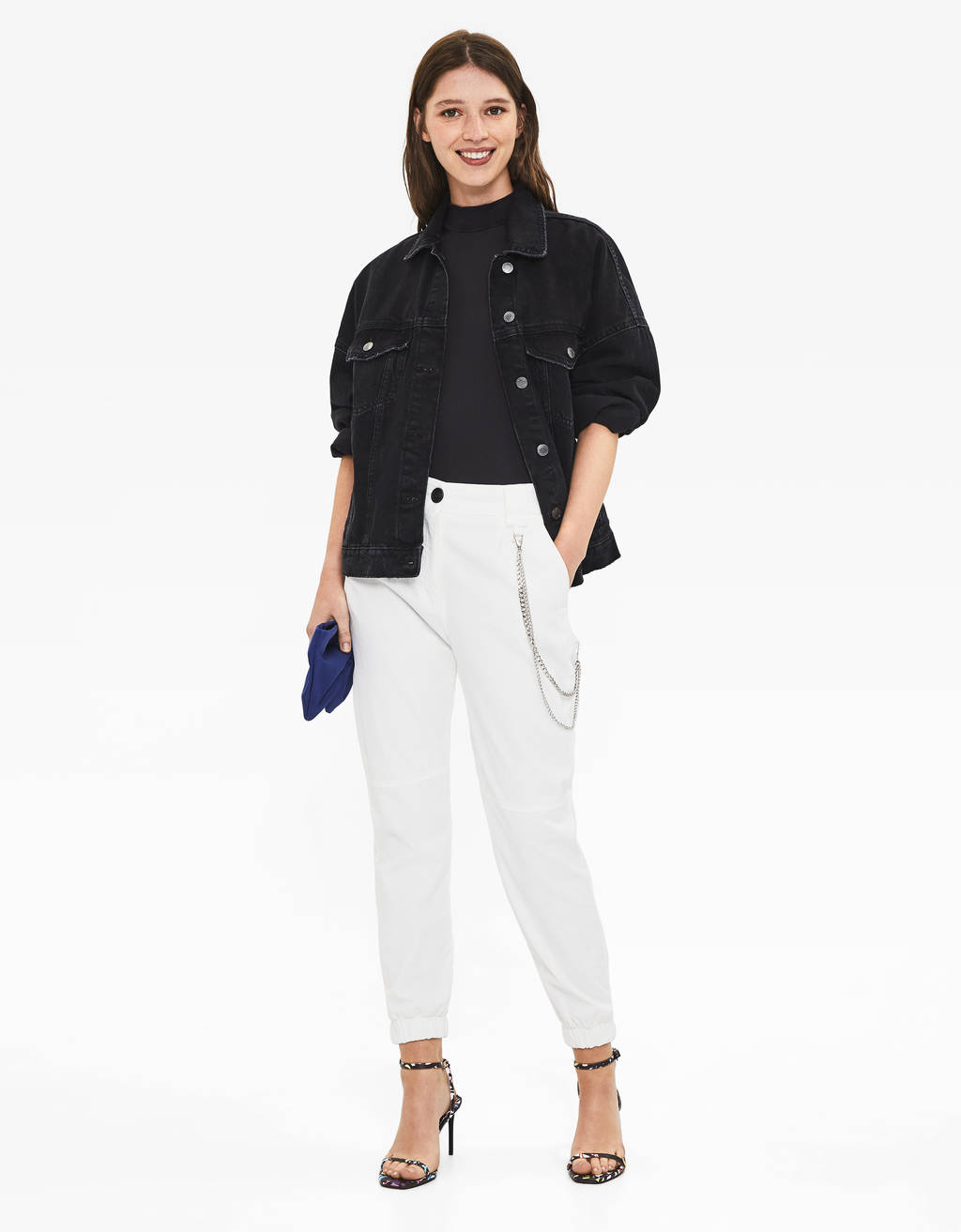 Utility jogging trousers
