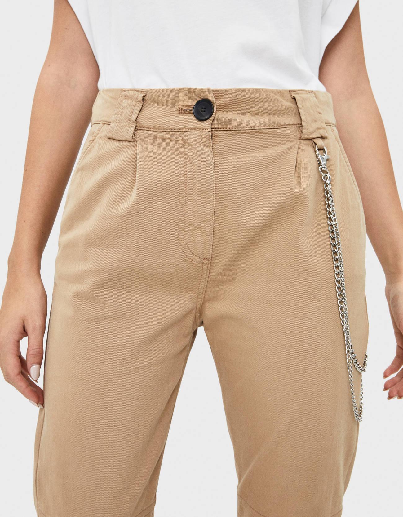 Спортивные брюки Utility Верблюжий Bershka