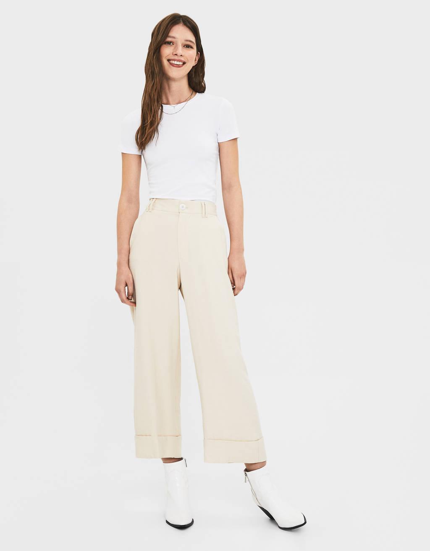 Pantalón culotte High Waist