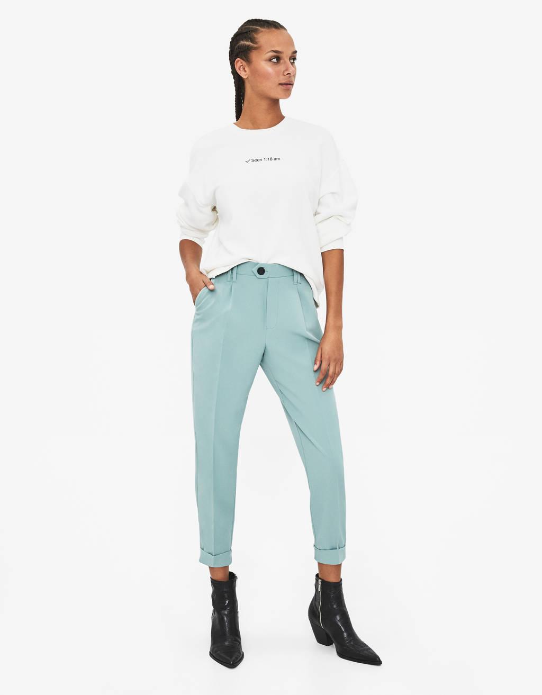 7771fd15c32e Pantaloni da donna - Saldi estivi 2019 | Bershka