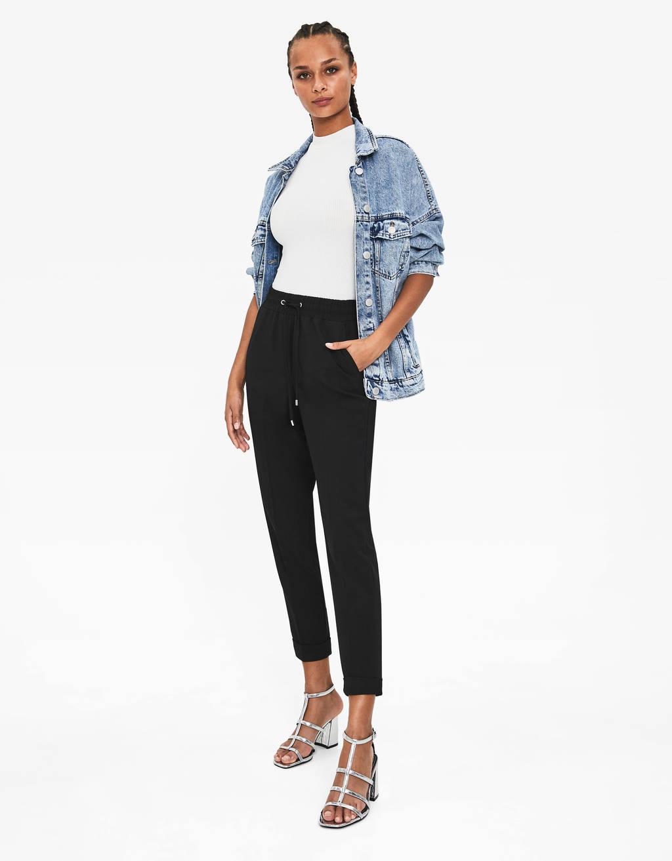 c02510534d9bd Pantalons pour femme - Soldes d'été 2019 | Bershka