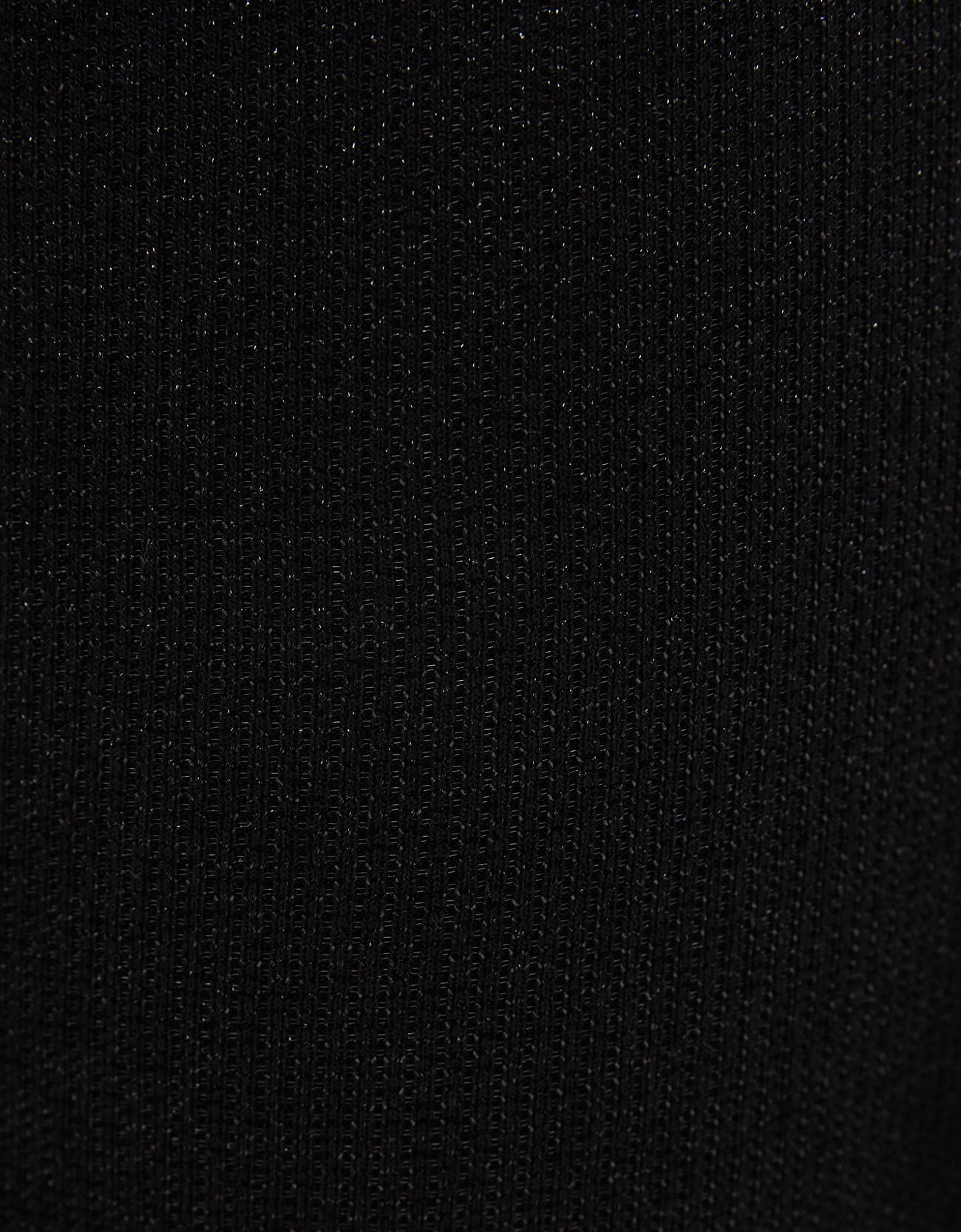 Расклешенные брюки с металлизированной нитью ЧЕРНЫЙ Bershka