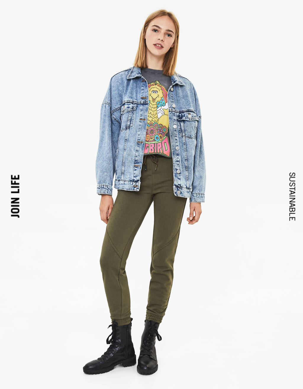 7cee12e52629 Women's Trousers - Spring Summer 2019 | Bershka