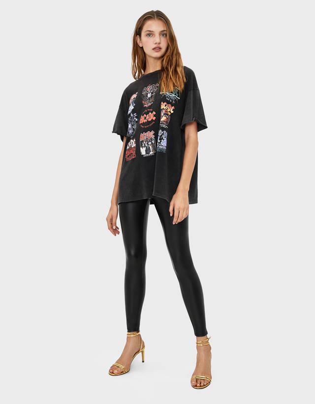 classic fit best deals on skate shoes Leggings - Pantalons - COLLECTION - FEMME - Bershka France