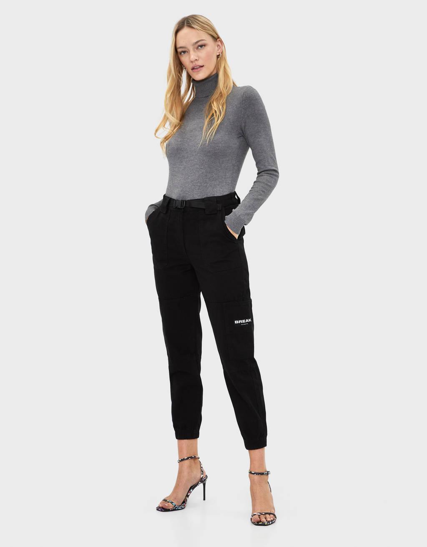 6058173fef19 Women's Trousers - Summer Sale 2019 | Bershka