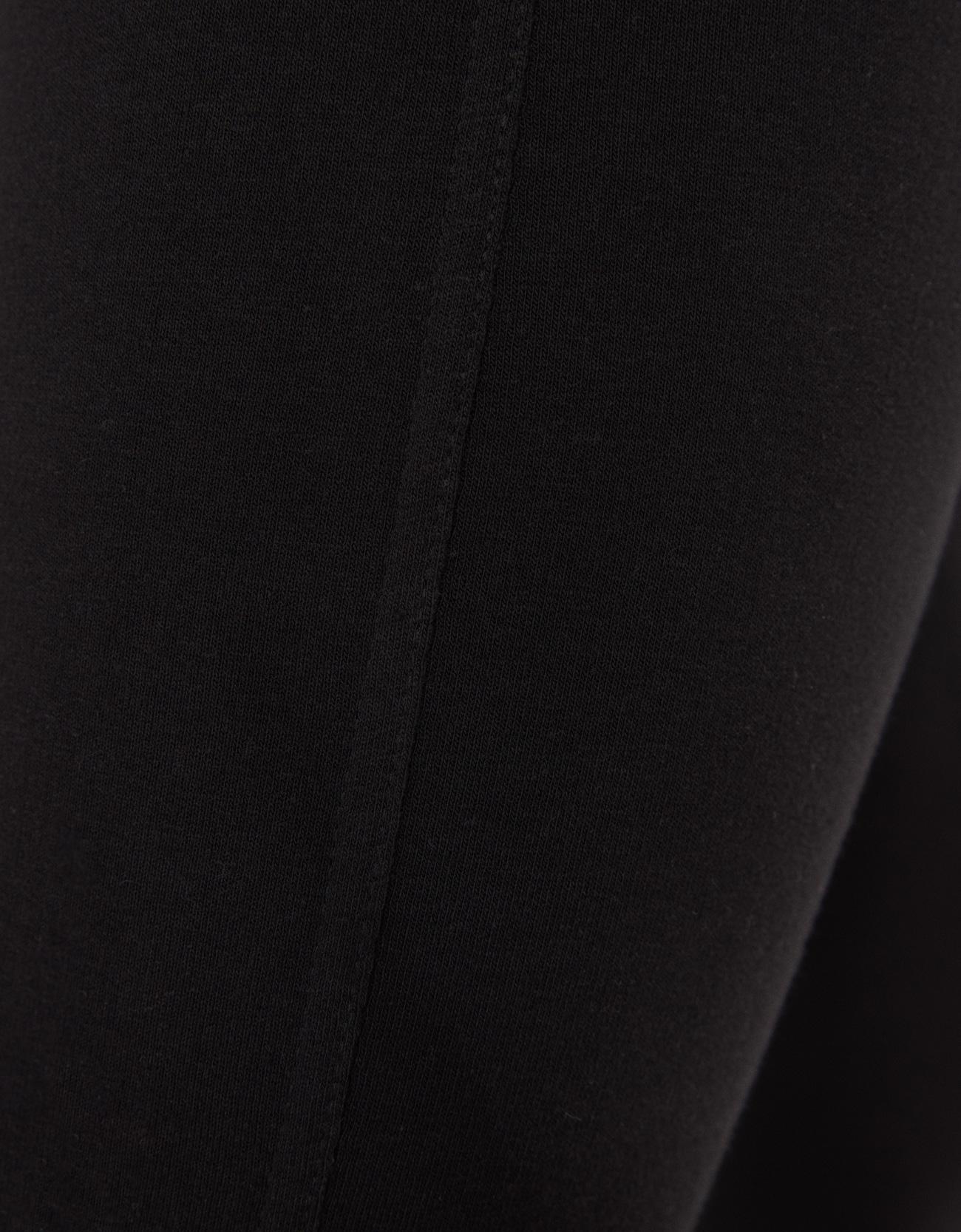 Легинсы из мягкой ткани ЧЕРНЫЙ Bershka