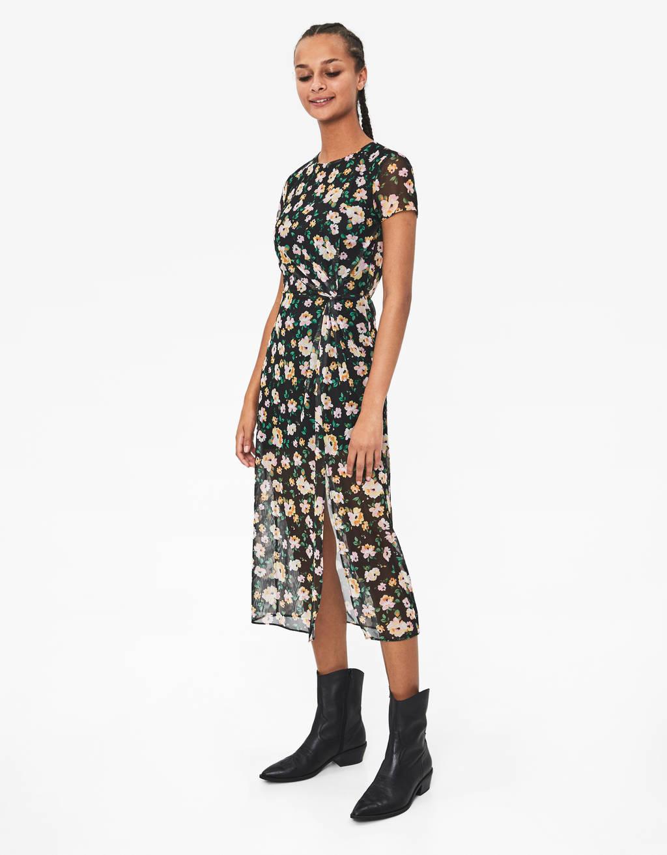 colores armoniosos buscar auténtico la mejor calidad para Vestidos de mujer - Otoño 2019 | Bershka