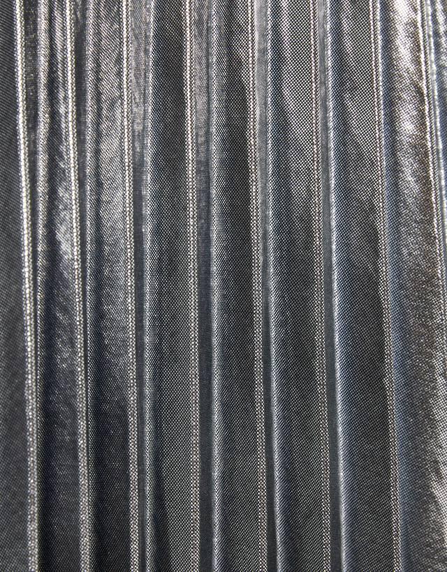 bester Ort für im Angebot geschickte Herstellung Plisseerock mit Metallic-Finish