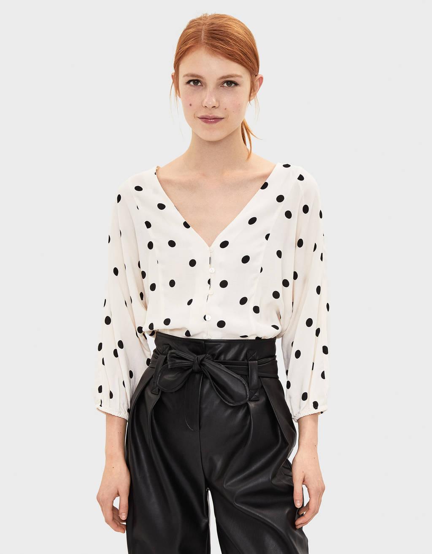 Blusa Ad Ad Ad Incrocio Blusa Incrocio Elegante Incrocio Blusa Elegante Elegante Blusa OXTwPiukZ