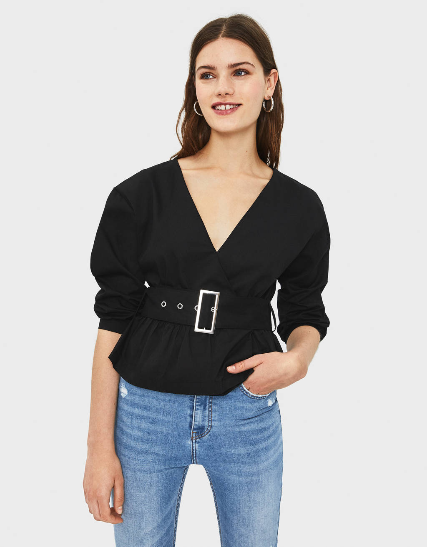 Chemise avec ceinture