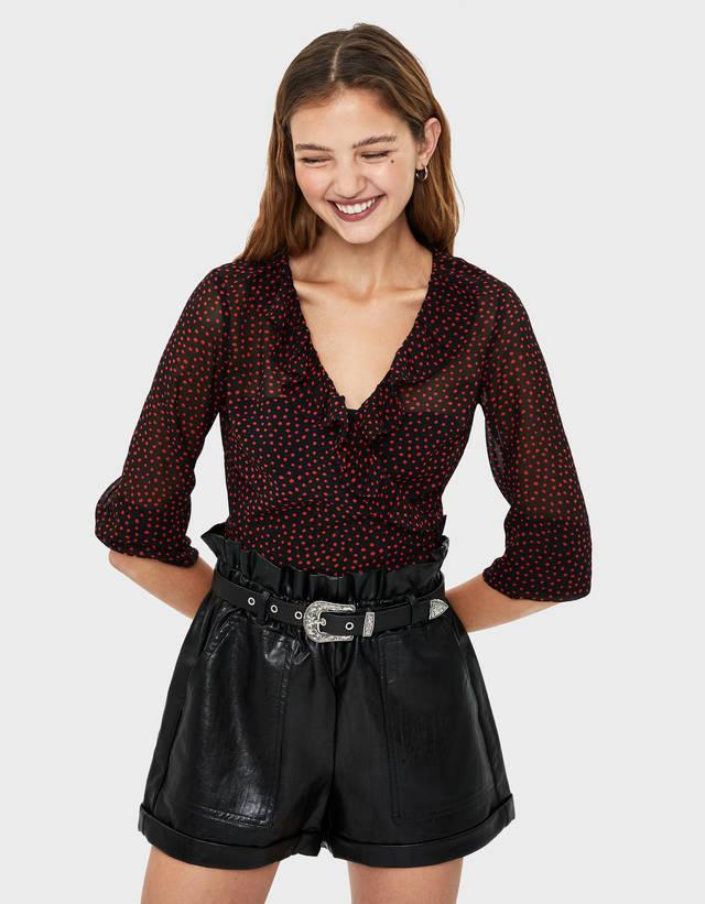 7e546ef445 Bluse e camicie da donna - Autunno 2019 | Bershka