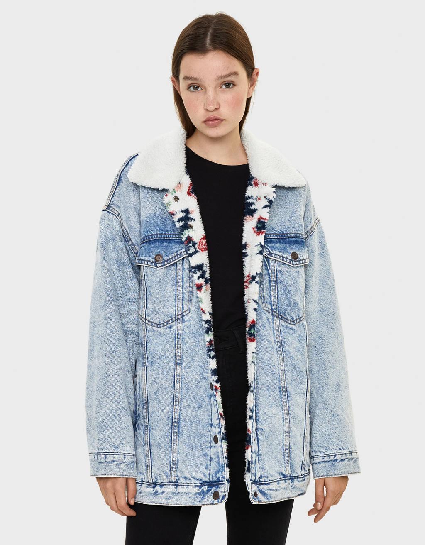 super popular 583ad 6c3e9 Giubbotti e giacche da donna - Primavera estate 2019 | Bershka