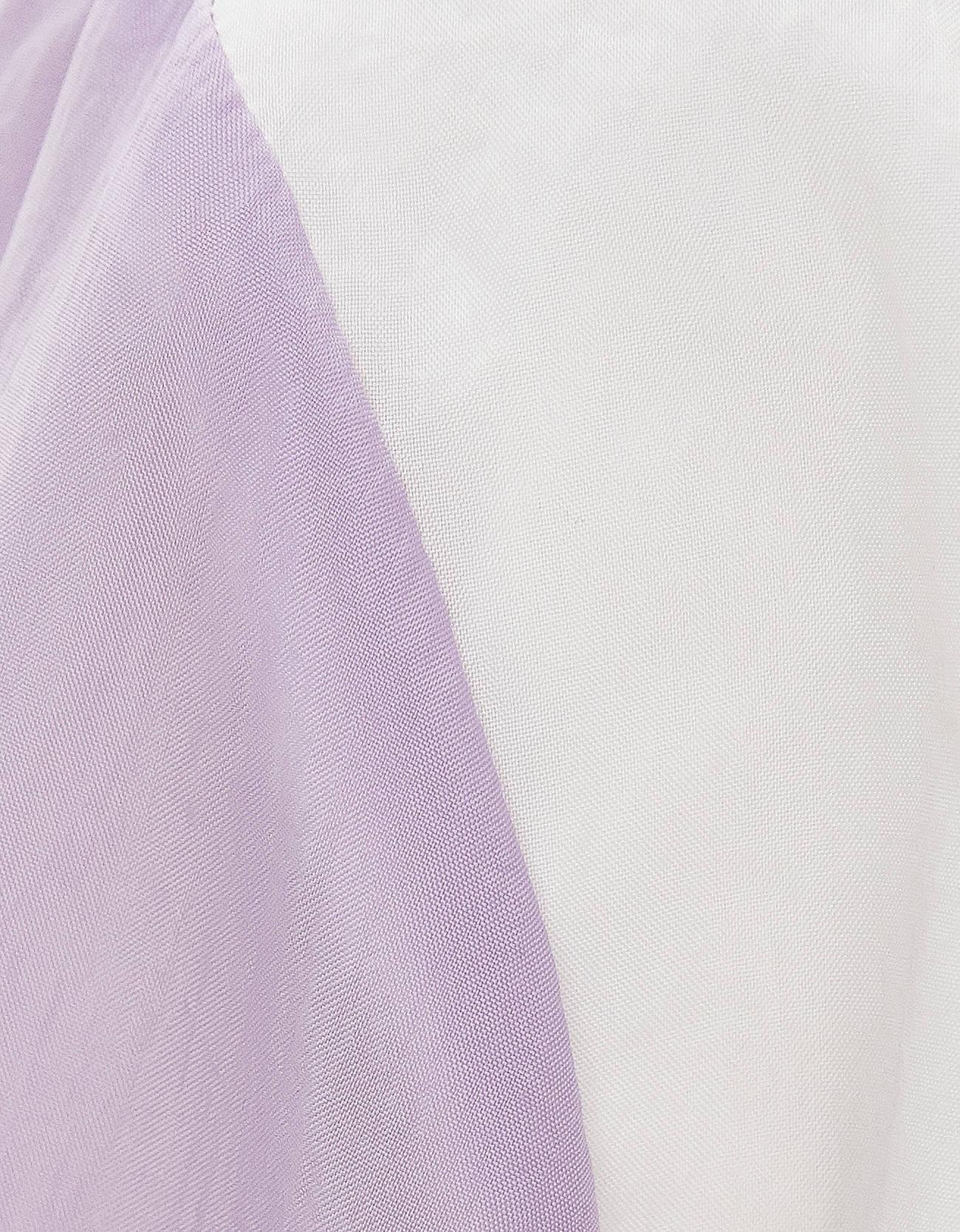 Куртка из нейлона с карманом в стиле худи Фиолетовый Bershka