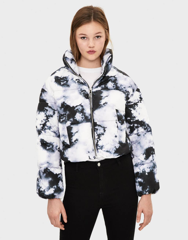Prošivena jakna s uzorkom