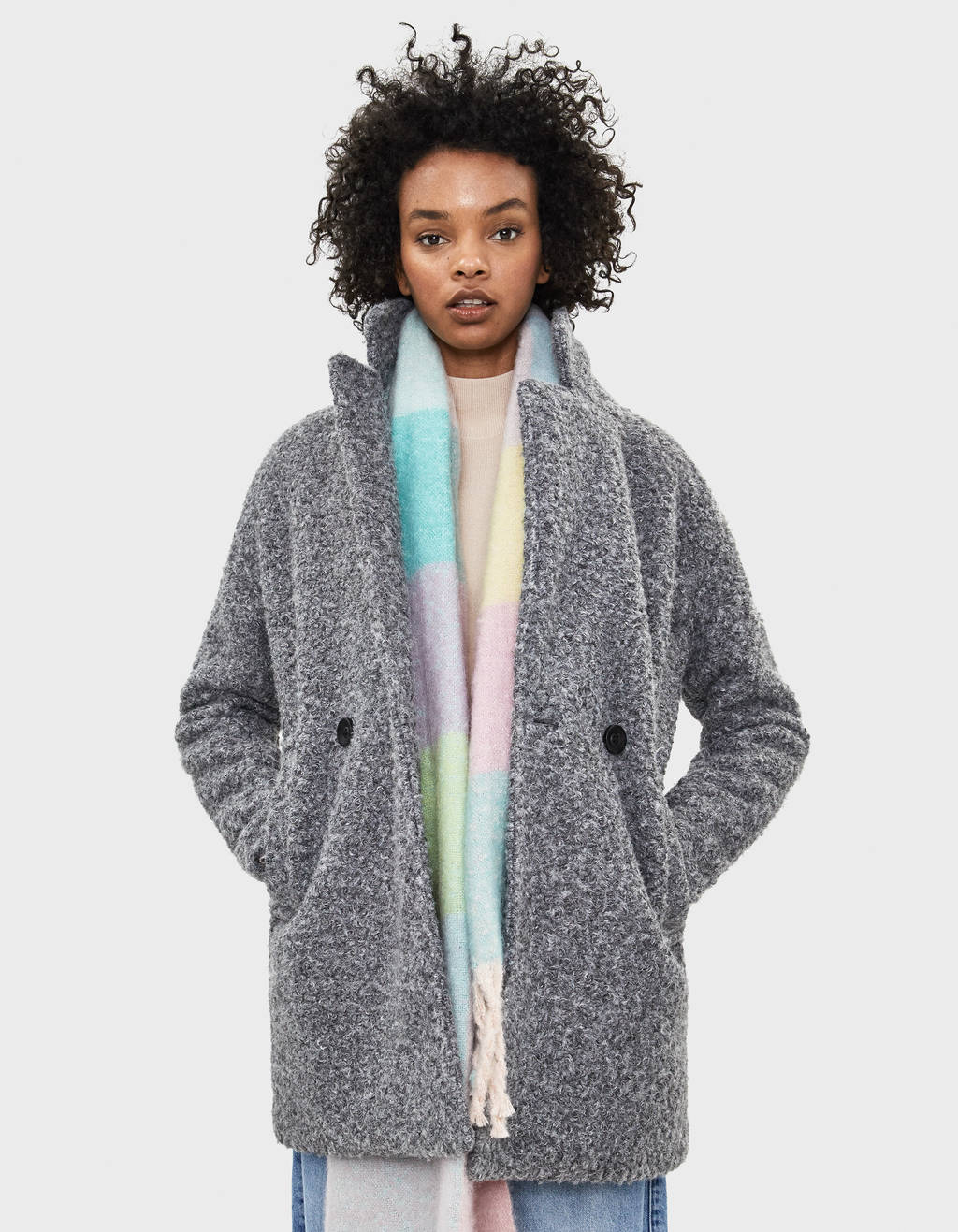 Manteau couleur camel