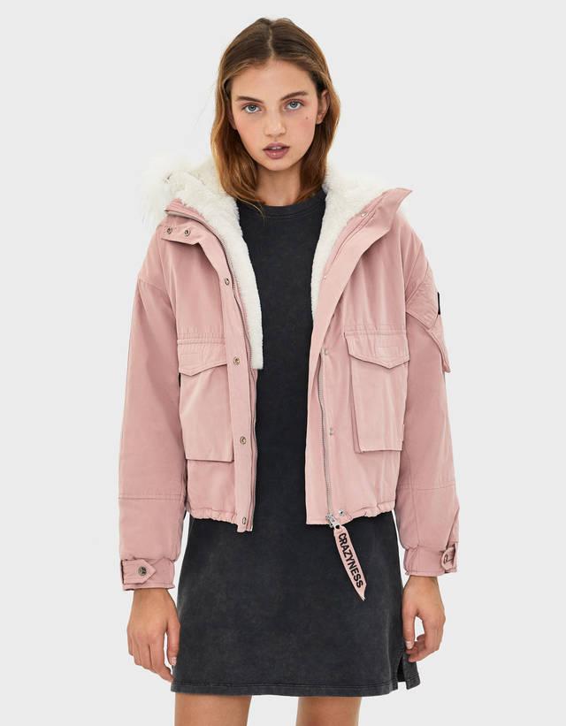 67d4ea33a3a Coats - Jackets - COLLECTION - WOMEN - Bershka United Kingdom