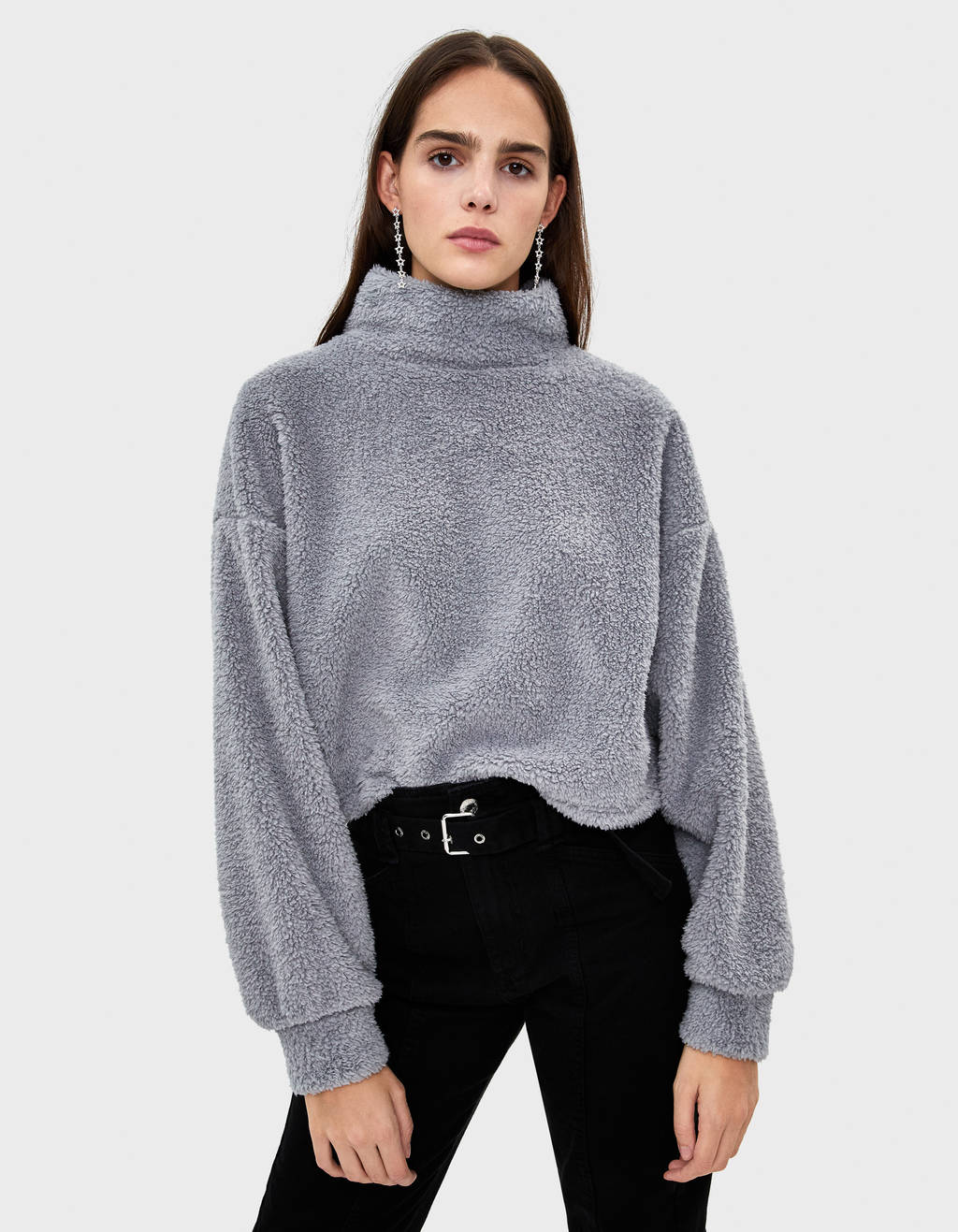 Pull en mouton synthétique