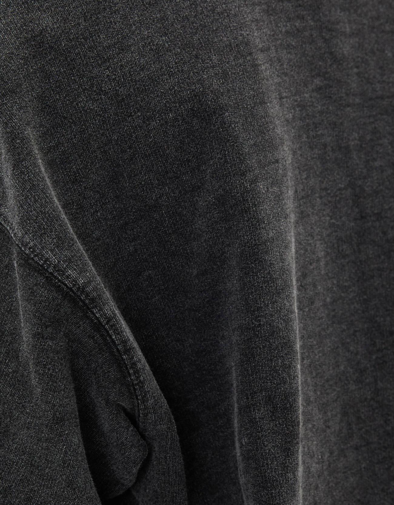 Свитер с короткими рукавами Серый Bershka