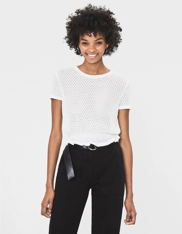 40a5e50180156 T-shirts pour femme - Soldes d'été 2019 | Bershka