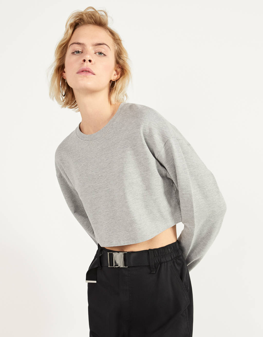Sweatshirt cropped