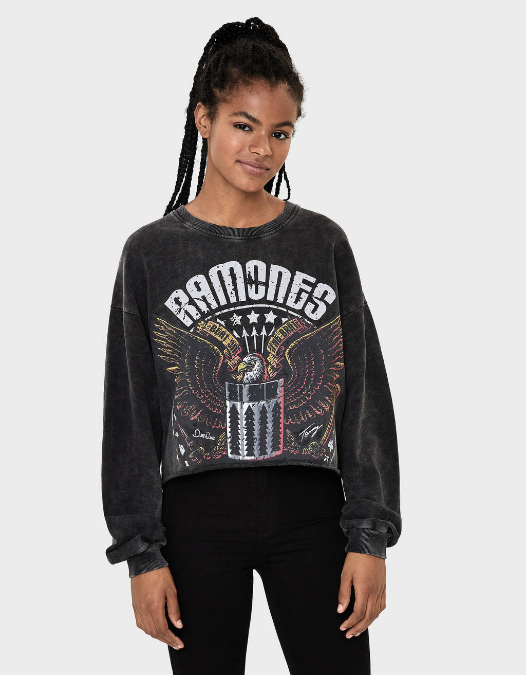 Sweater med Ramones