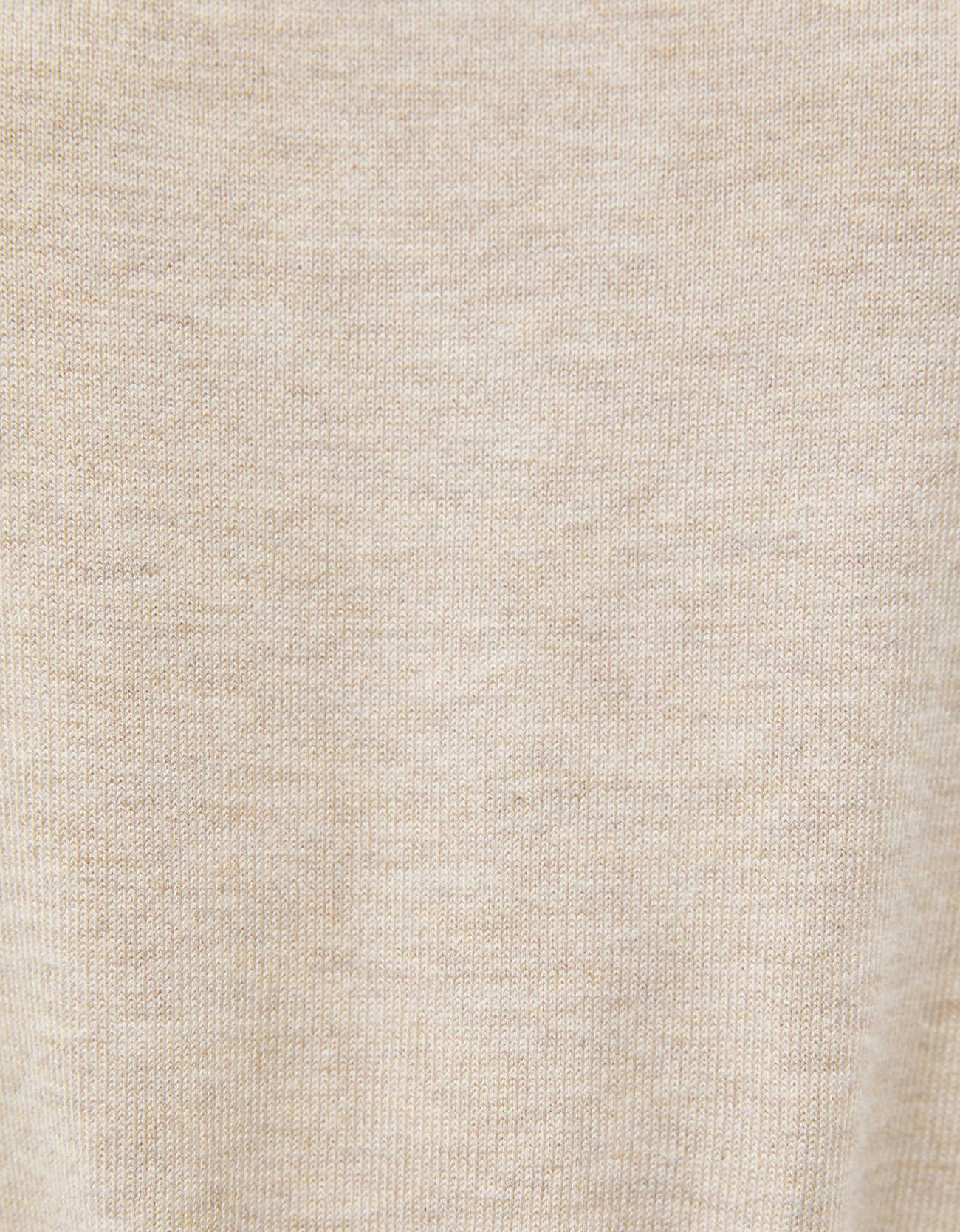 Свитер с короткими рукавами Песочный Bershka