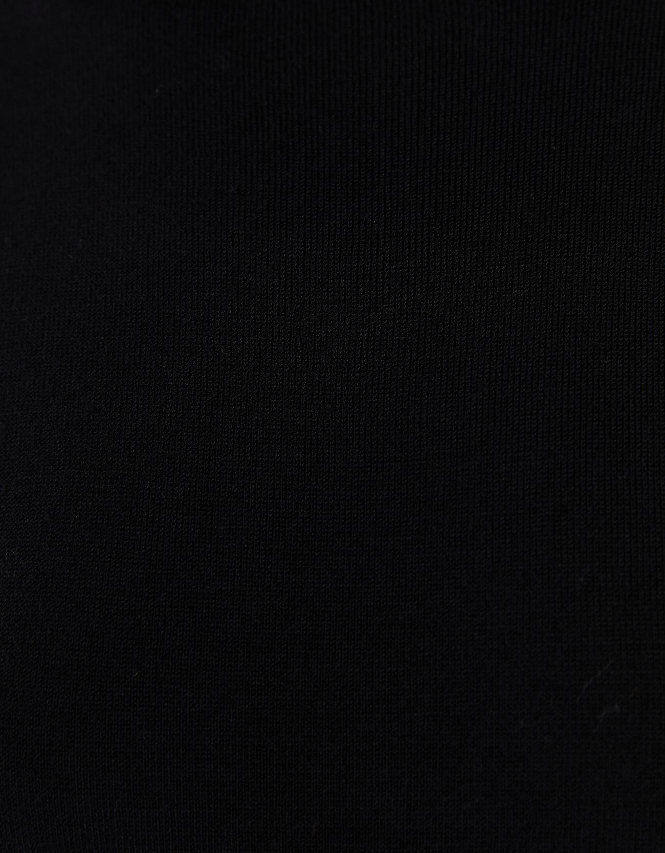 Свитер с короткими рукавами Черный Bershka