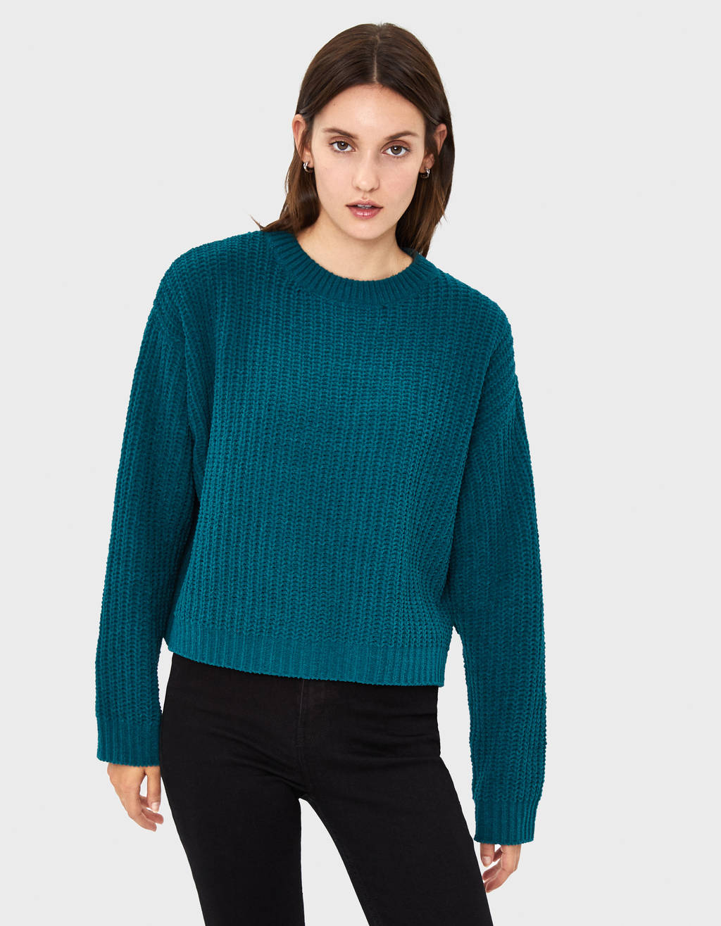Chenille sweater