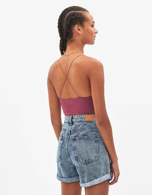 737a9061069 Bodysuits - COLLECTION - WOMEN - Bershka United States
