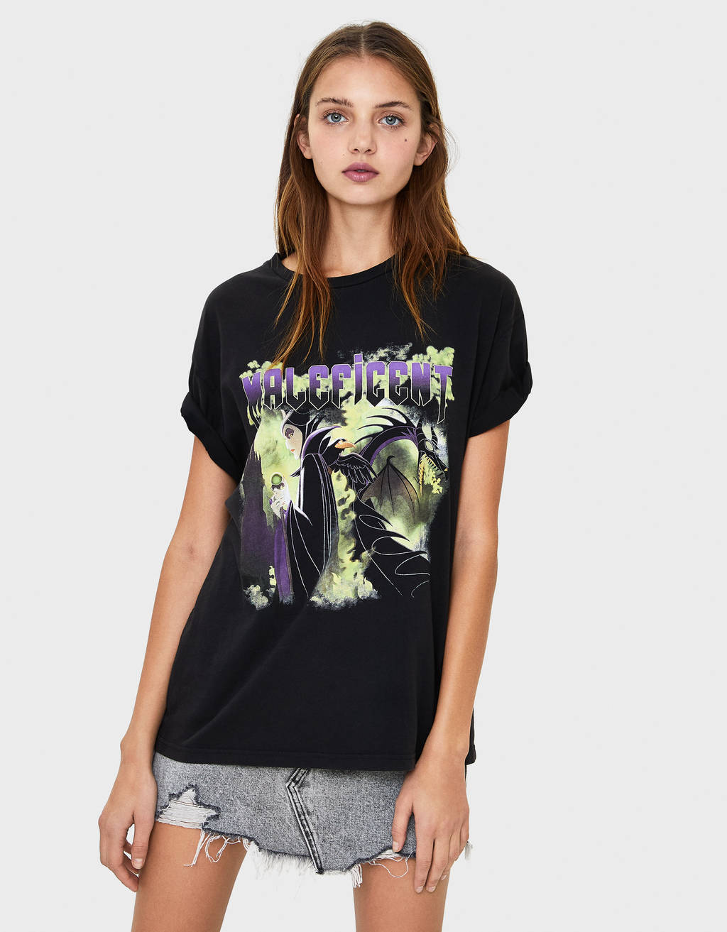 Shirt mit Maleficent-Print