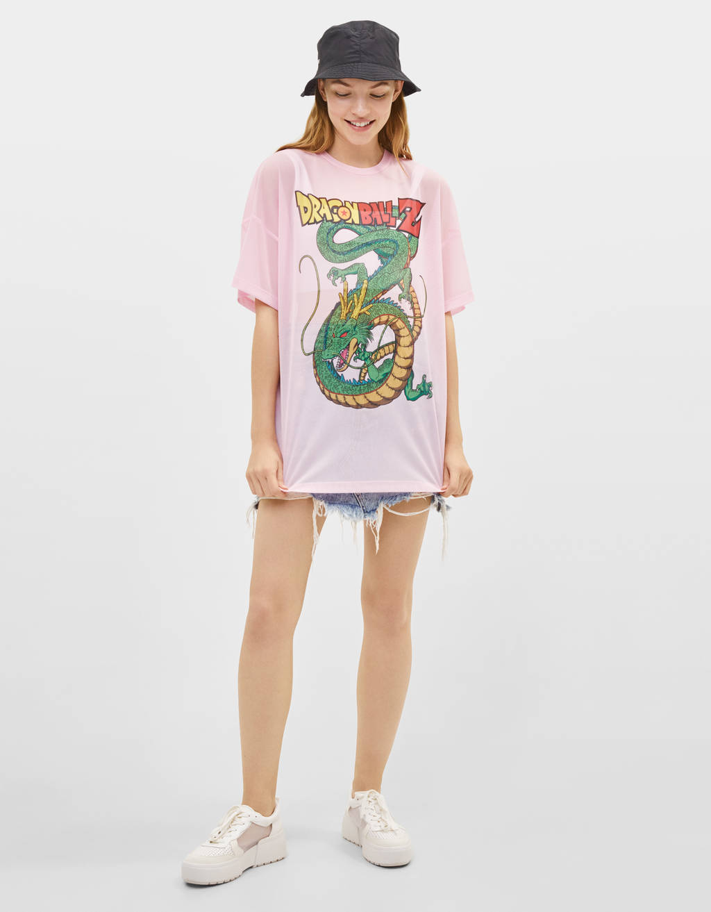T-shirt en tulle Dragon Ball