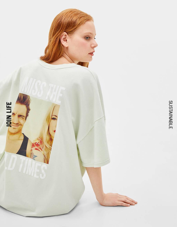 2d920919 Women's T-shirts - Spring Summer 2019   Bershka