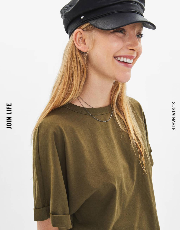 バックノットTシャツ