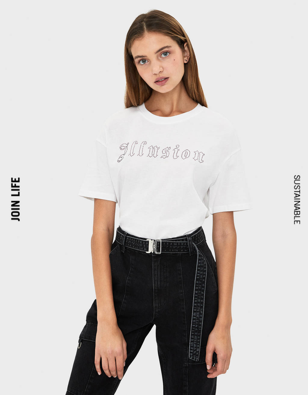 1c07e9bdc4a6 Camisetas de mujer - Otoño 2019 | Bershka