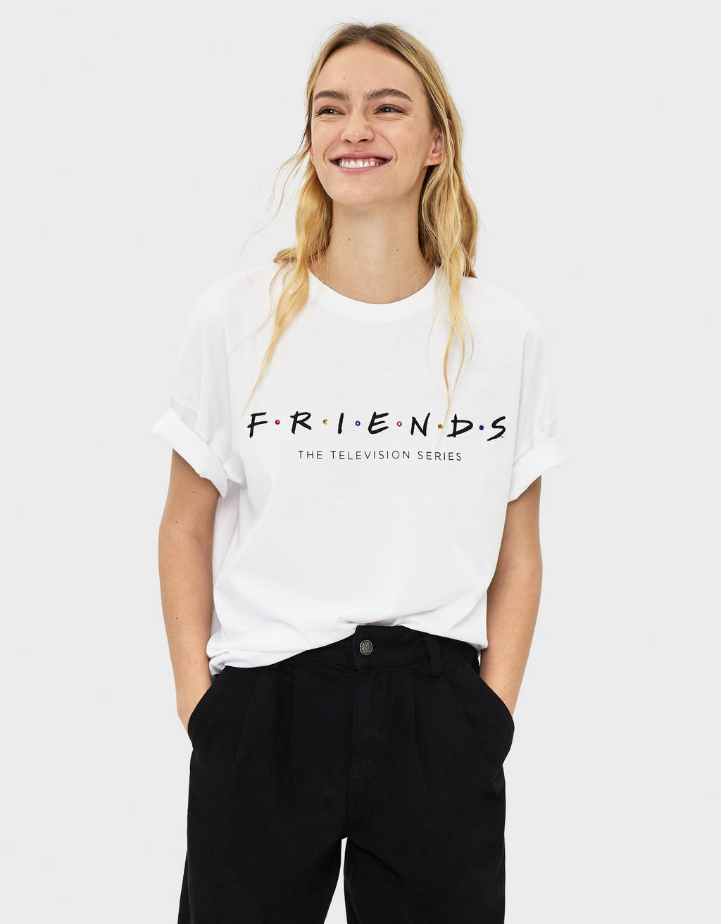 T-shirt med Friends
